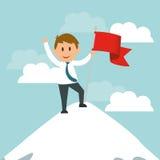 Business entrepreneur Royalty Free Stock Image