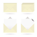 Business envelopes open Royalty Free Stock Photo