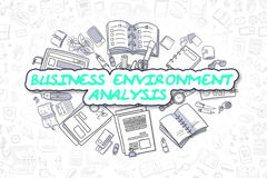 Business Environment Analysis - Business Concept. Royalty Free Stock Image