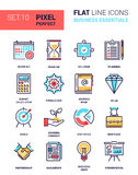 Business Essentials Icons Royalty Free Stock Photography