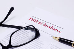 Free Business Ethics Royalty Free Stock Photography - 29485247