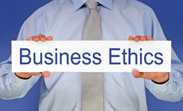 Business ethics Royalty Free Stock Image