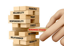 BUSINESS ETHICS Stock Photos
