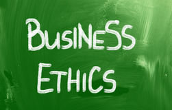 Business Ethics Concept Royalty Free Stock Images