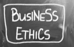 Business Ethics Concept Royalty Free Stock Photography