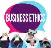 Business Ethics Honesty Ideology Responsibility Strategy Concept Stock Image