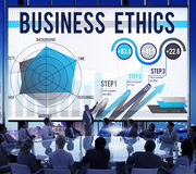 Business Ethics Integrity Moral Responsibiliyt Honest Concept Royalty Free Stock Photos