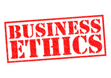BUSINESS ETHICS Stock Images