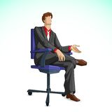 Business Executive Stock Image