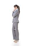 Business executive contemplate Stock Photography