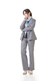 Business executive contemplate Royalty Free Stock Photo
