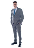 Business executive. Full length portrait Royalty Free Stock Photos