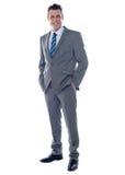 Business executive. Full length portrait Royalty Free Stock Photos