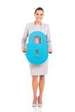 Business executive lock Royalty Free Stock Photos
