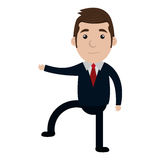Business executive male concept icon. Stock Image