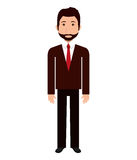 Business executive male concept icon. Stock Photography