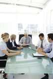 Business executive officers at work Royalty Free Stock Image