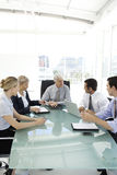 Business executive officers at work Stock Images
