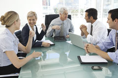 Business executive officers at work Royalty Free Stock Photography