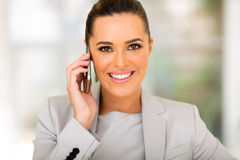 Business executive phone Stock Images