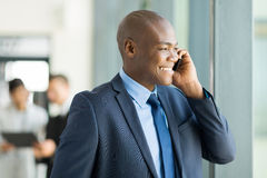 Business executive phone Royalty Free Stock Photography