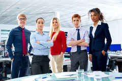 Business executive team youg people at office Stock Photography