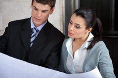 Business Executives Discussing Business Plan stock photos