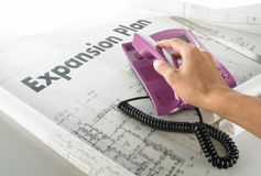 Business expansion plan. Call to grab the business expansion plan Stock Photos