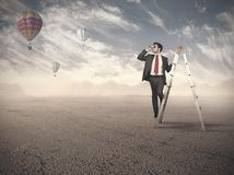 Business exploration Royalty Free Stock Images