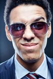 Business face Stock Photography