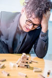 Business fail and unsuccess Stock Photography