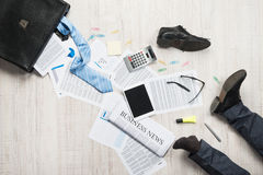 Business failure concept Stock Images