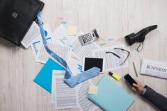 Business failure concept Stock Image