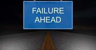 Business Failure Concept Stock Images