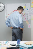 Business failure Stock Image