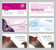 Business and fashion card template Royalty Free Stock Photos