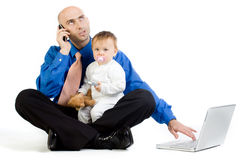 Business father  Stock Photo