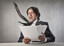 Business Fear Stock Photo