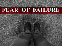 Business Fear of Failure Stock Images