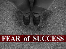 Business Fear of Success Stock Image