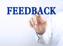 Business feedback Royalty Free Stock Photo