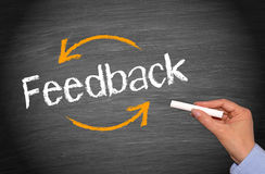 Business feedback Stock Photography