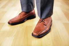 Business Feet Royalty Free Stock Image