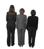 Business female backup team Royalty Free Stock Photography