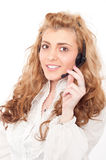 Business female customer service representative Royalty Free Stock Photo