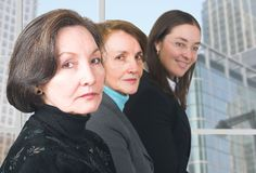 Business female management team Royalty Free Stock Images