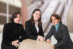 Business female management team Royalty Free Stock Photos