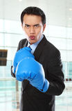 Business fight Royalty Free Stock Photos