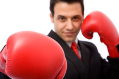 Business fight Stock Photography