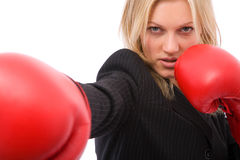 Business fight Royalty Free Stock Images